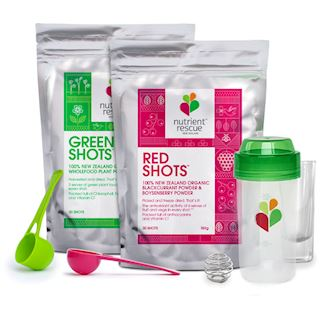 Green and Red Shot Starter Pack